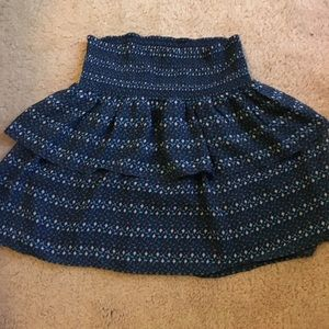 Dresses & Skirts - Blue and green Old Navy skirt